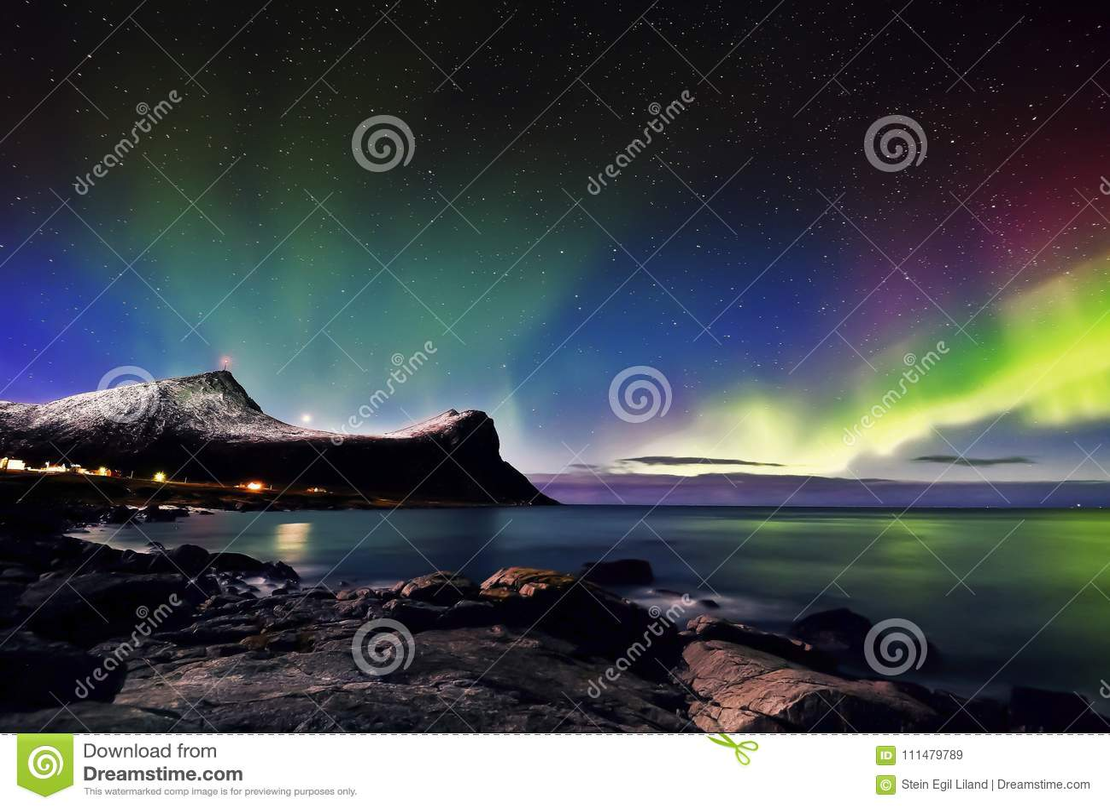 Aurora boreal de Lofoten