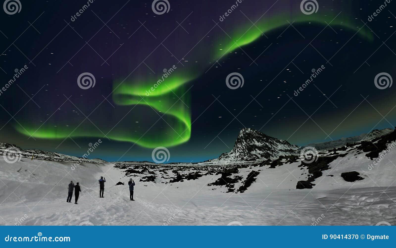Aurora borealis, Islanda