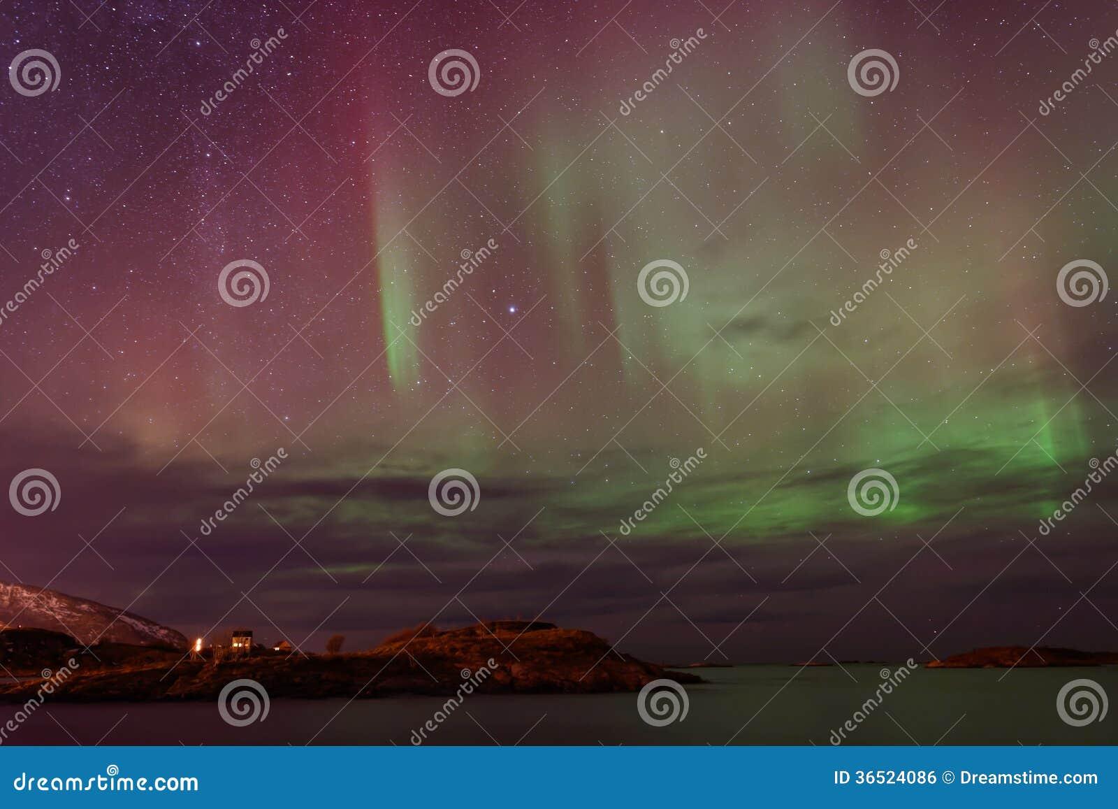 Aurora Borealis, lumières du nord