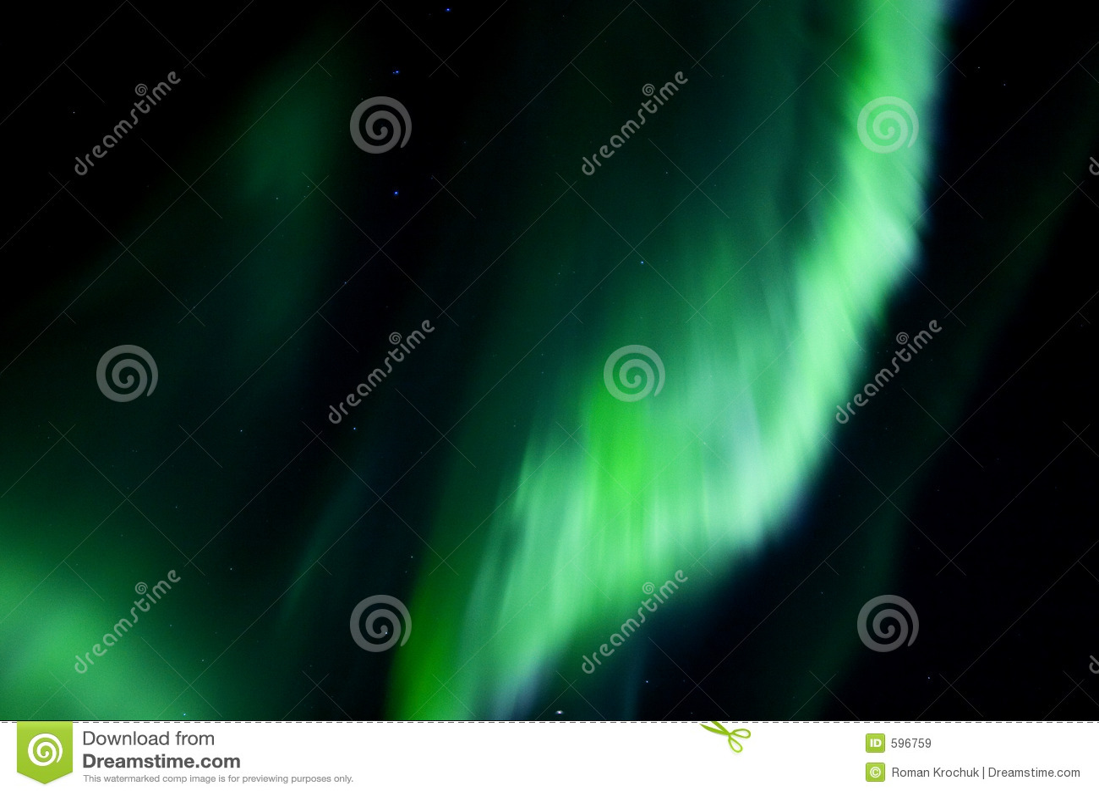 Aurora de arriba colorida