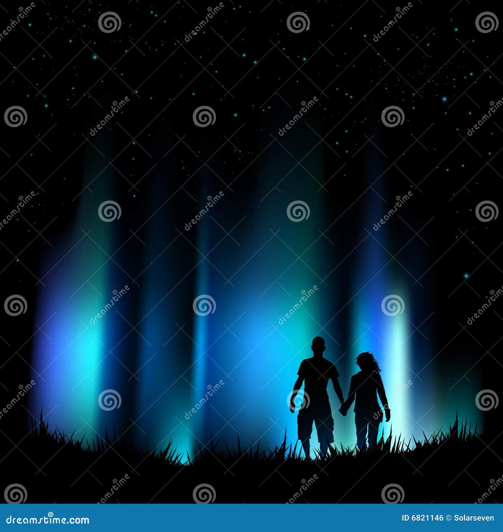 Aurora de las luces norteñas