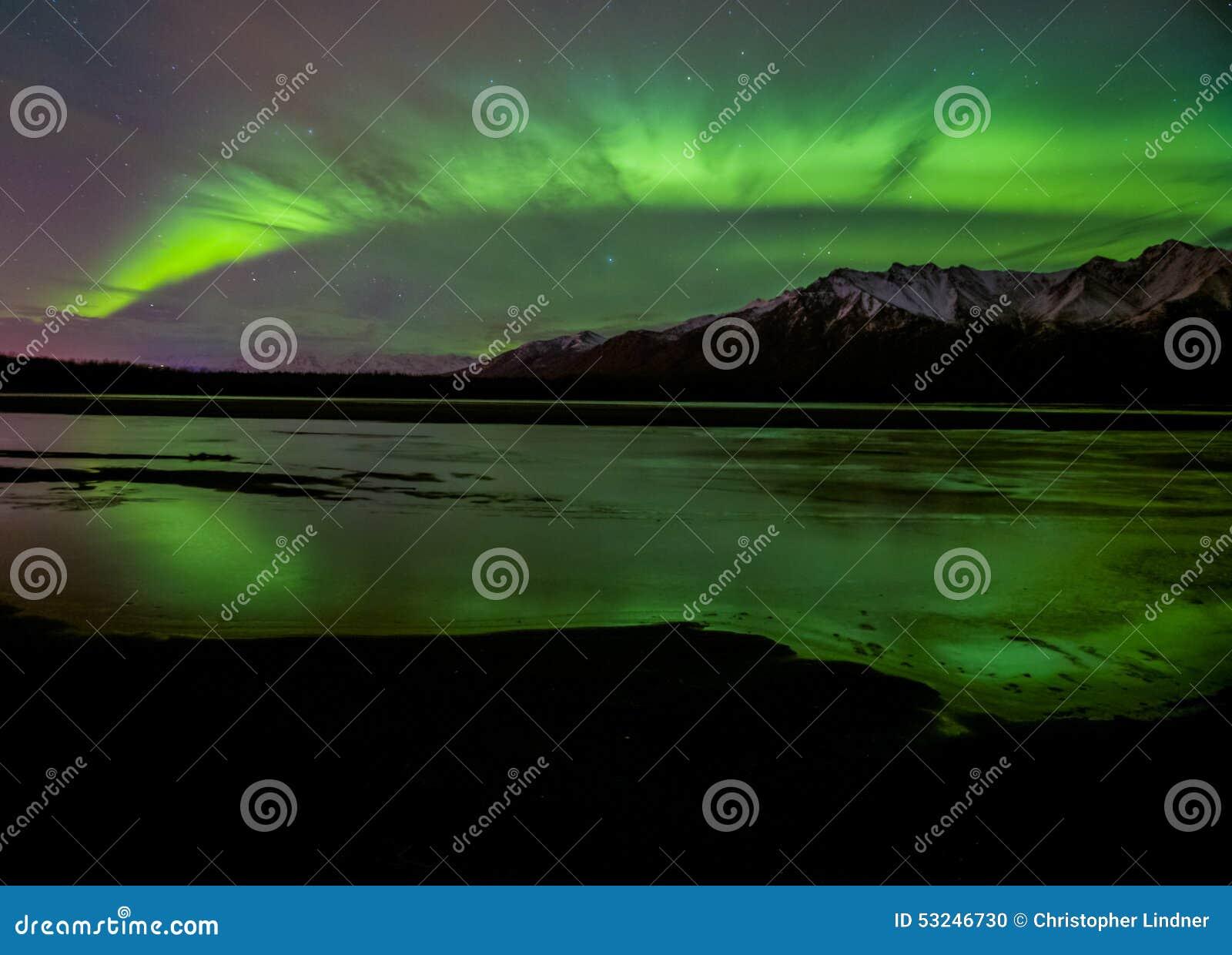 Aurora glänzt helles