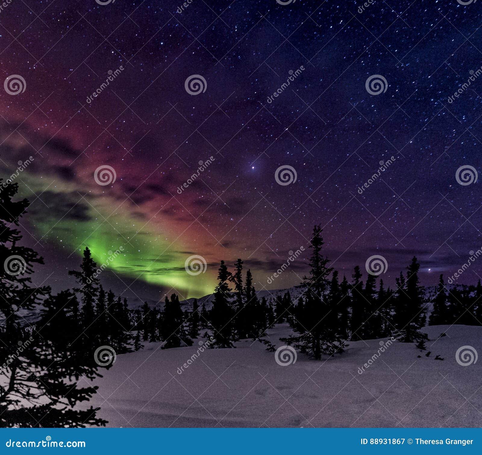 Aurora Sky Stock Image. Image Of Phenomenon, Cold