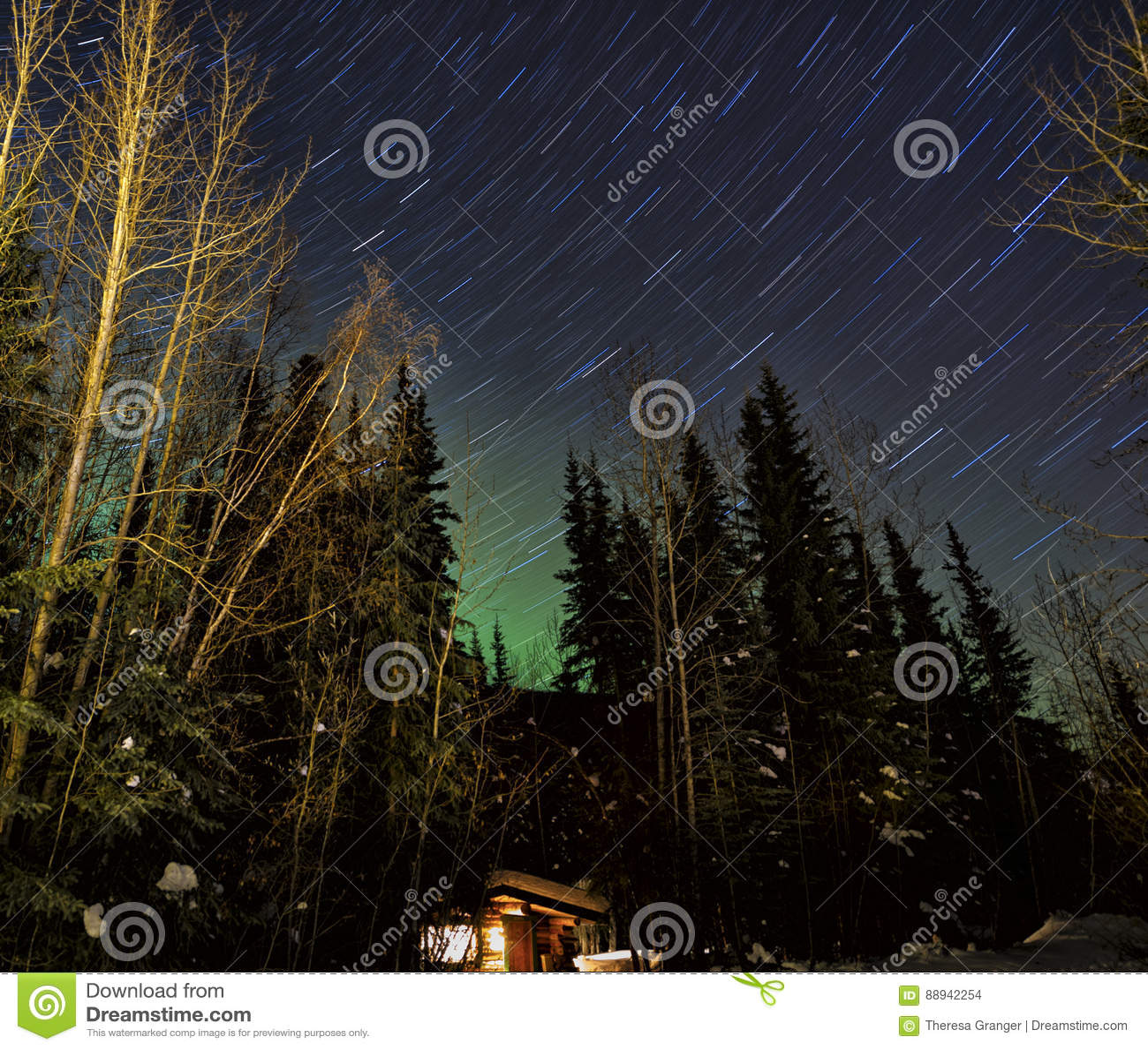 Aurora Sky Stock Photo. Image Of Bright, Glow, Phenomenon