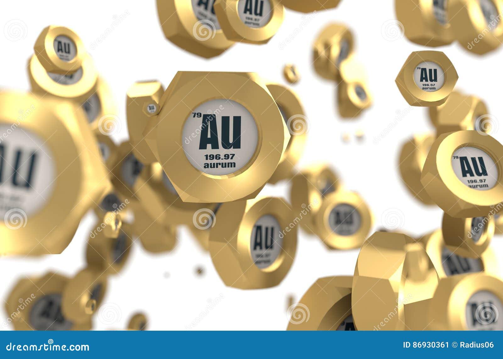 Aurum chemical element stock illustration illustration of depth aurum chemical element urtaz Gallery