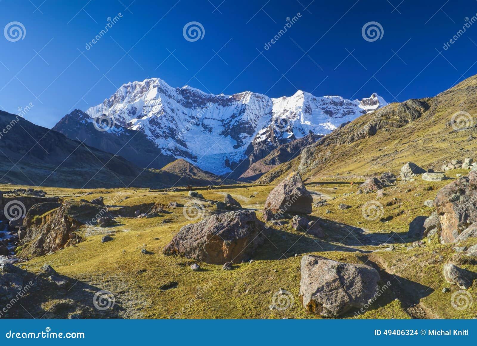 Download Ausangate stockfoto. Bild von landschaft, trekking, draußen - 49406324