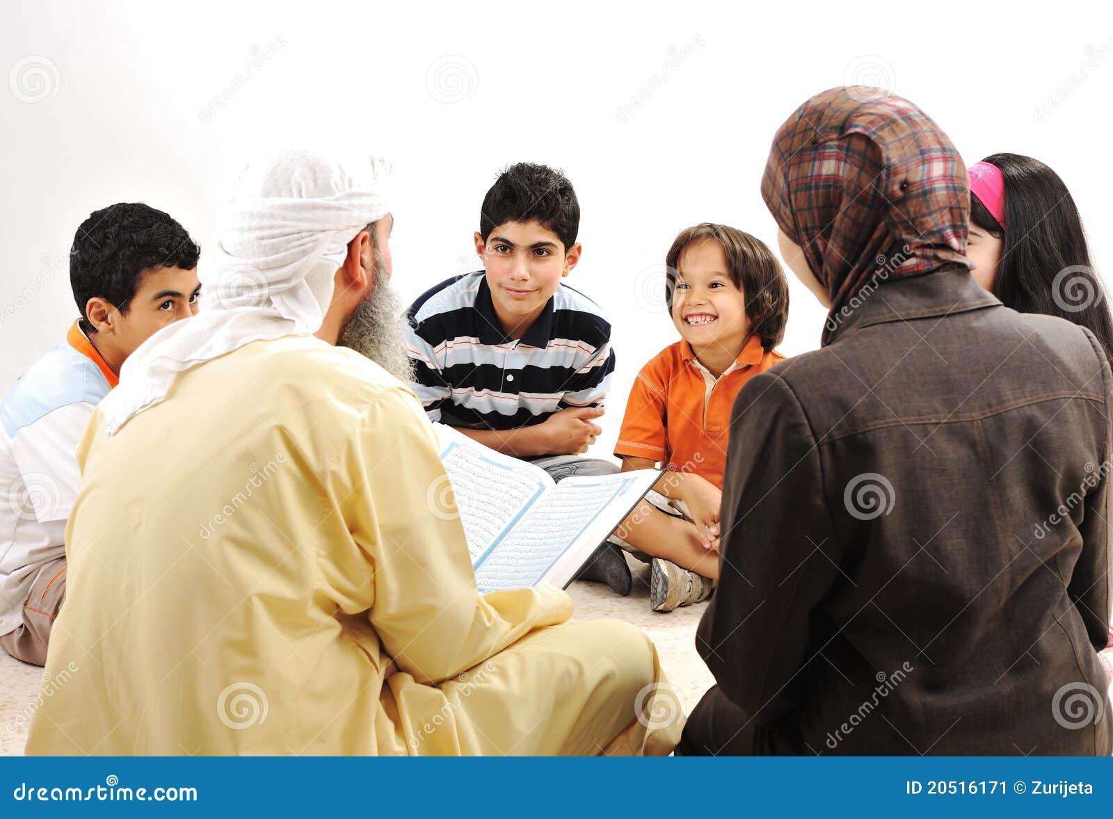 Ausbildungsaktivität in Ramadan
