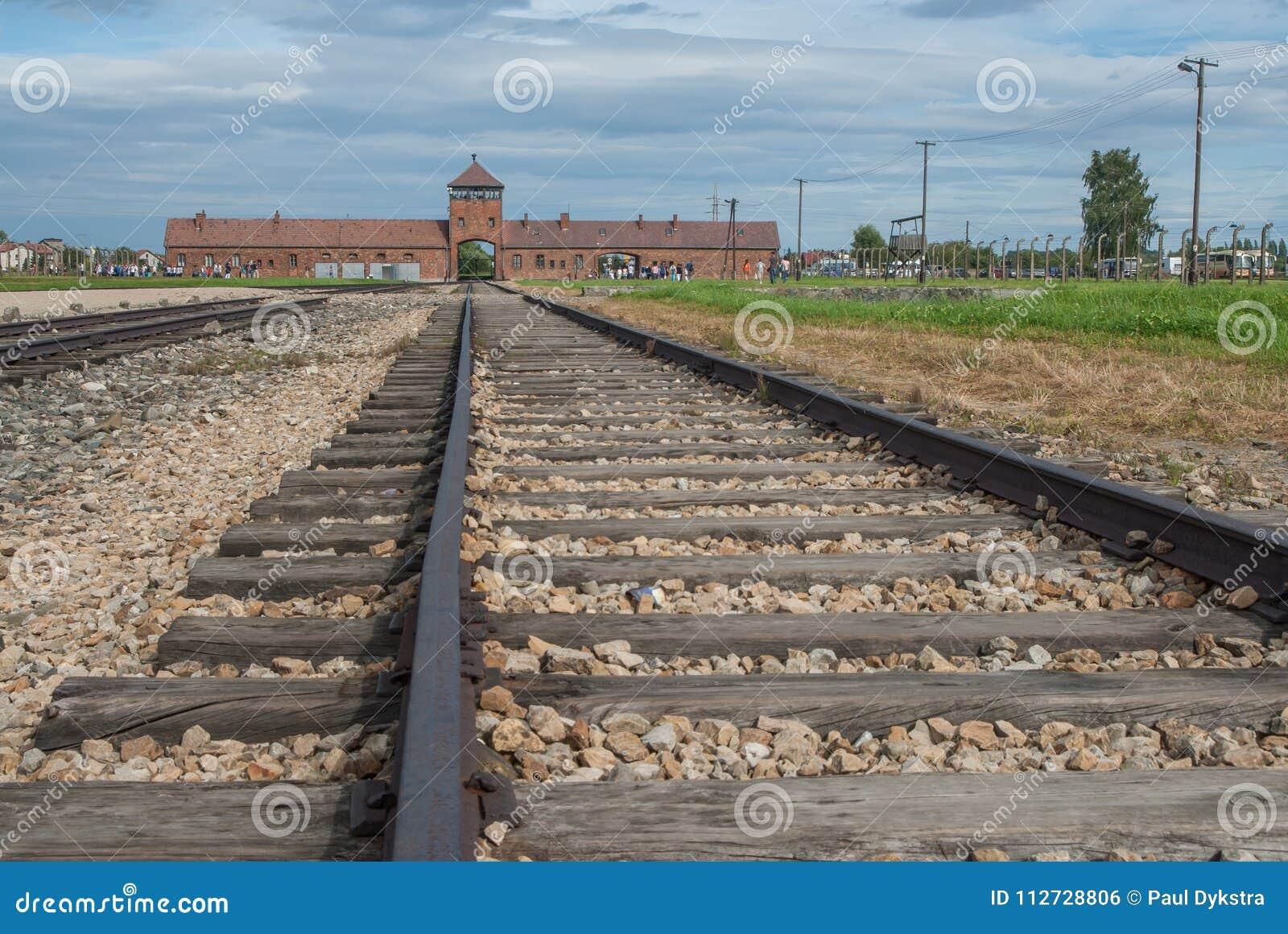 Auschwitz - Birkenau järnväg linje