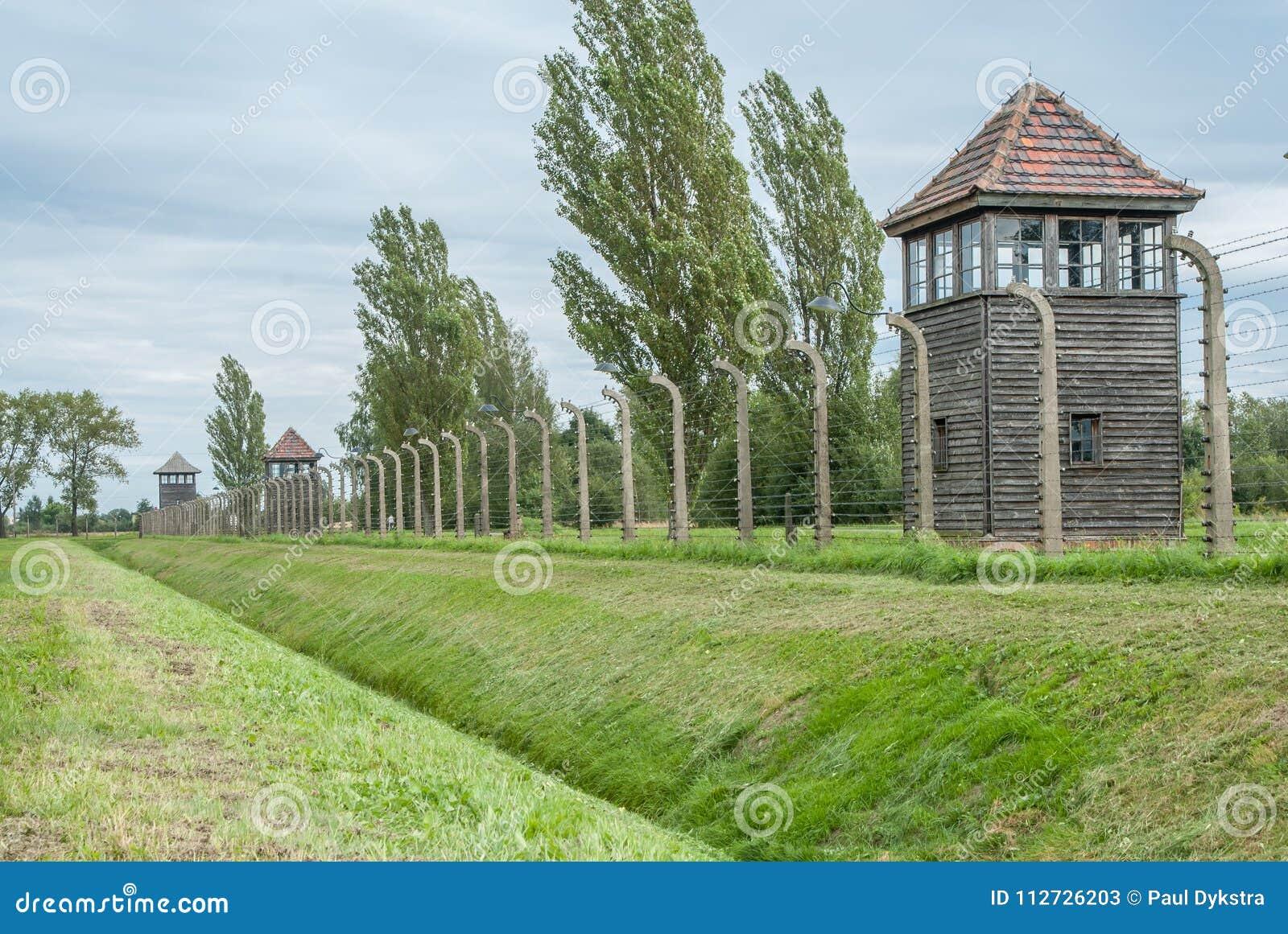 Auschwitz - Birkenau omkretsstaket
