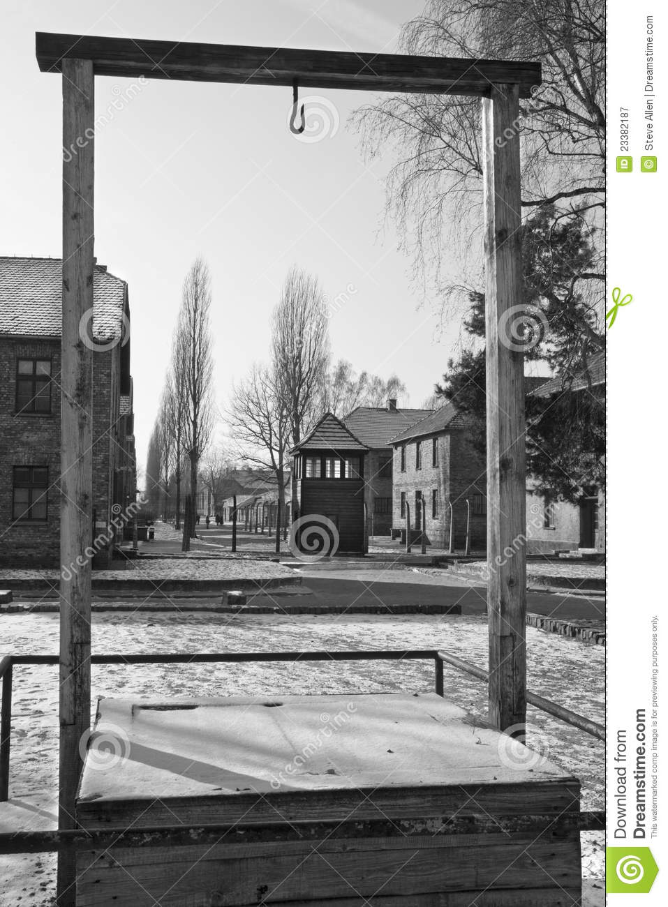 Auschwitz Concentration Camp - Poland Editorial Photography - Image ...