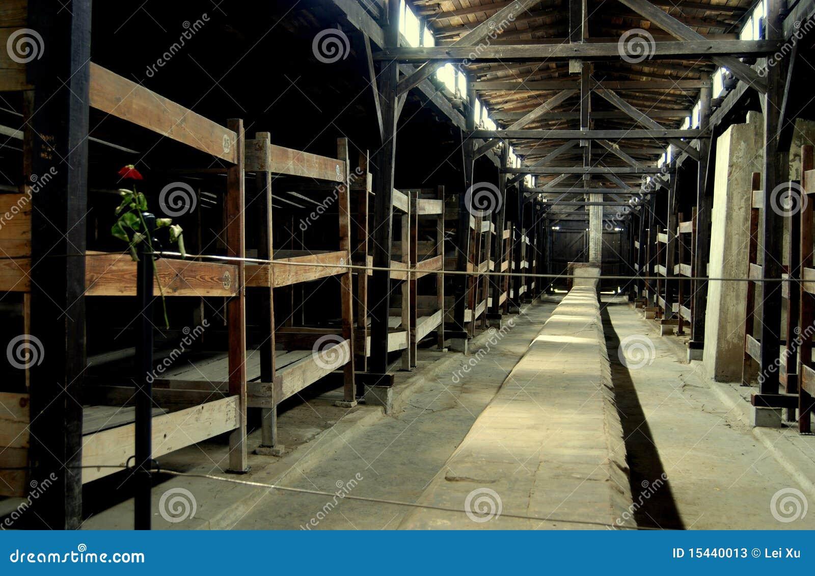 Auschwitz, Polen: De Barakken van de gevangene