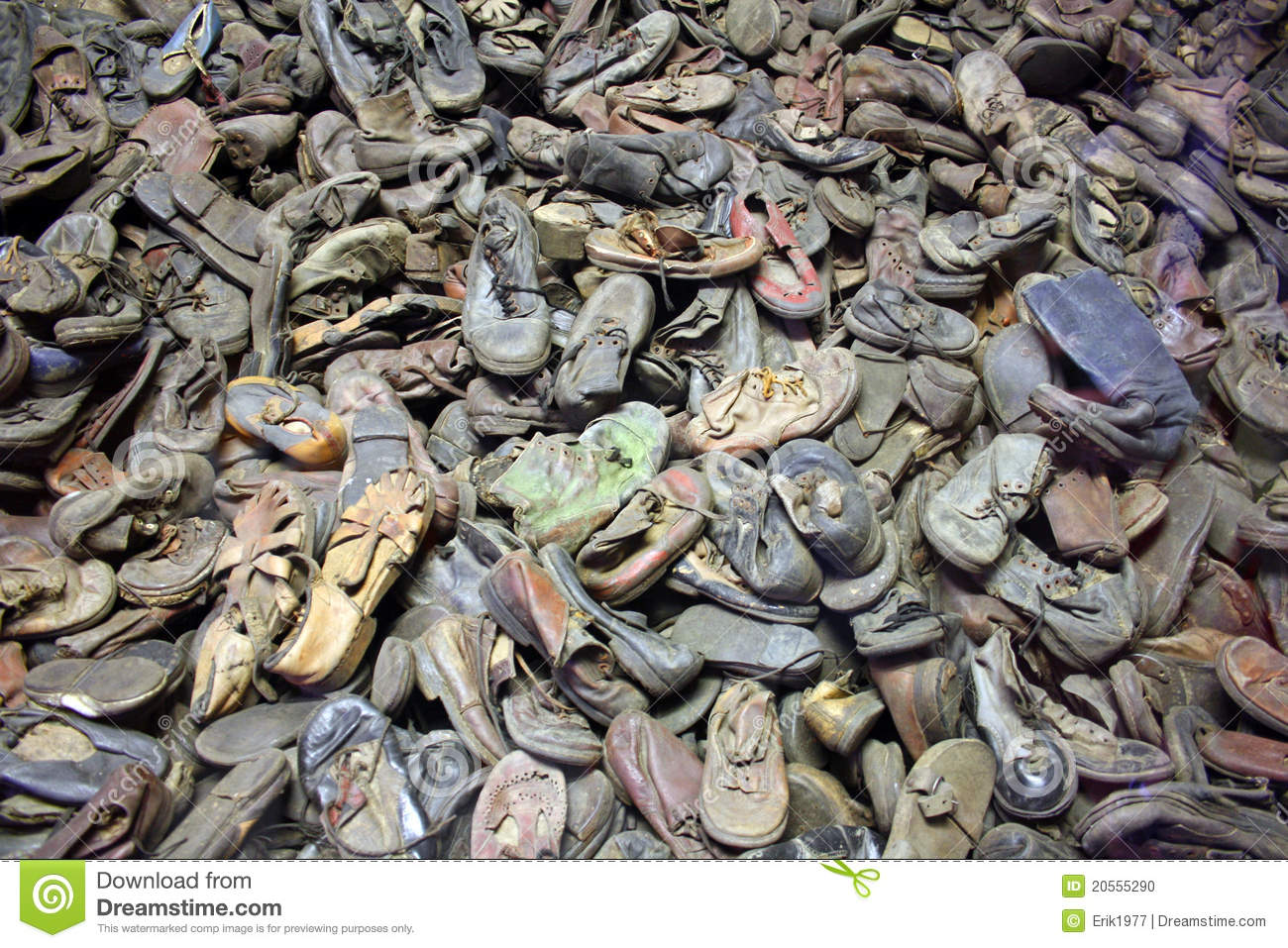 Auschwitz Shoes Editorial Image Image 20555290