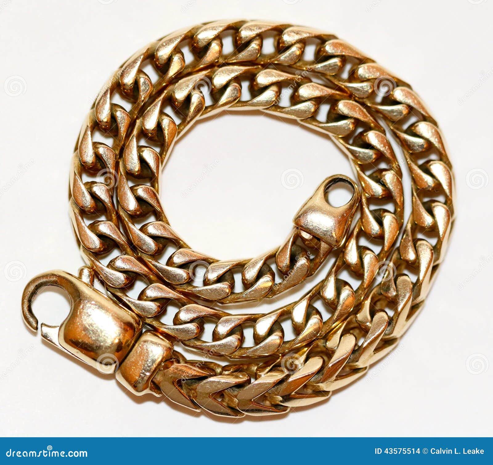 Ausführliche Ansicht des Armbandes mit 18 Karat Gold