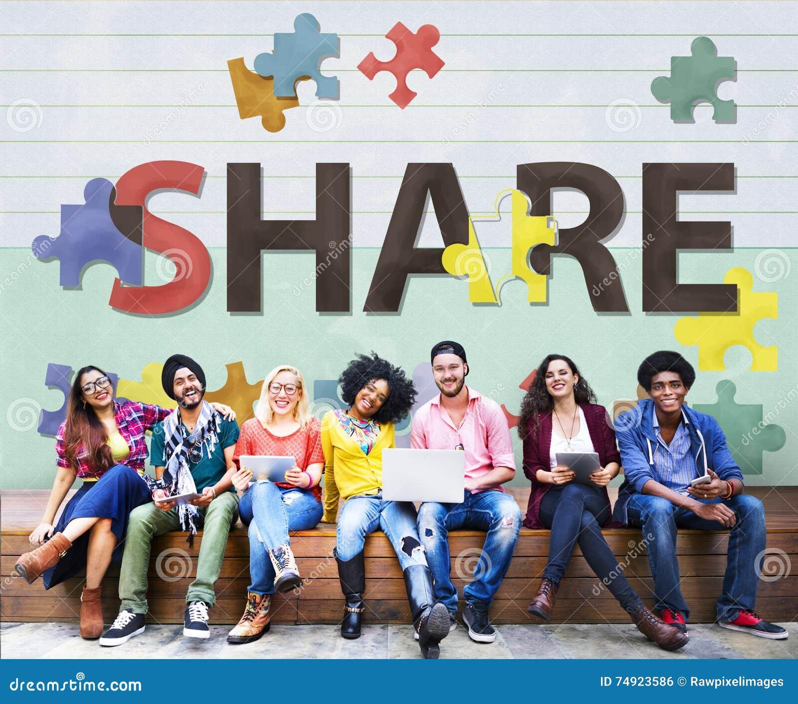 Ausgabe von Aktienen-Austausch-Kommunikations-Verbindungs-Konzept