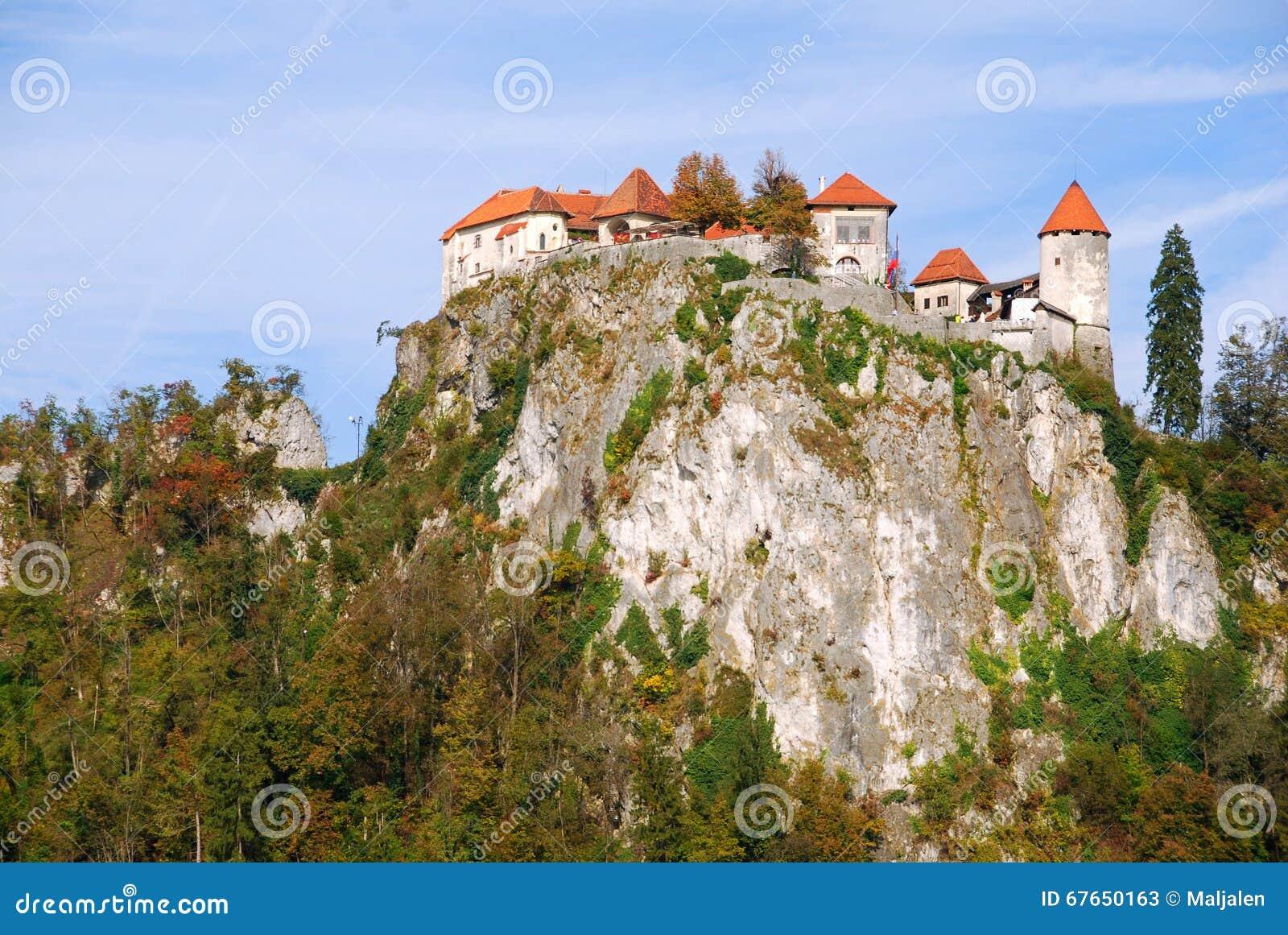Ausgeblutetes Schloss