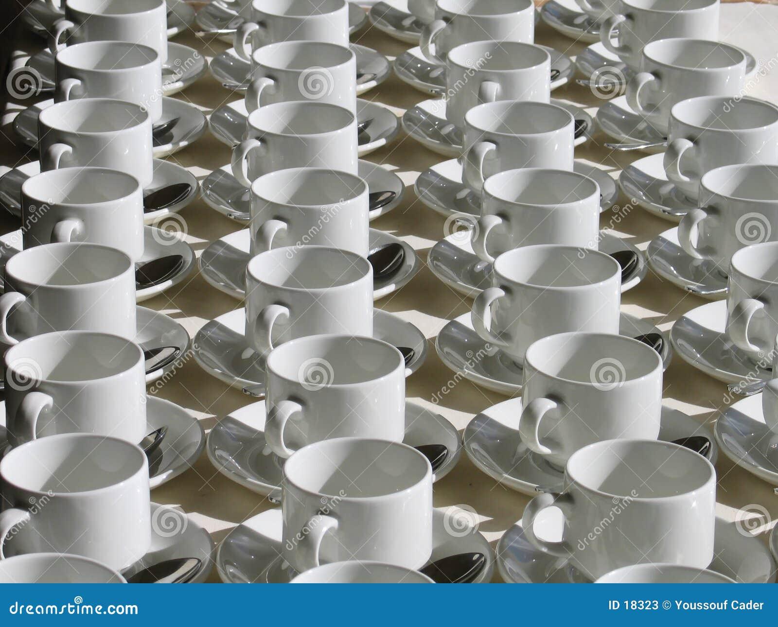 Ausgerichtete Cup