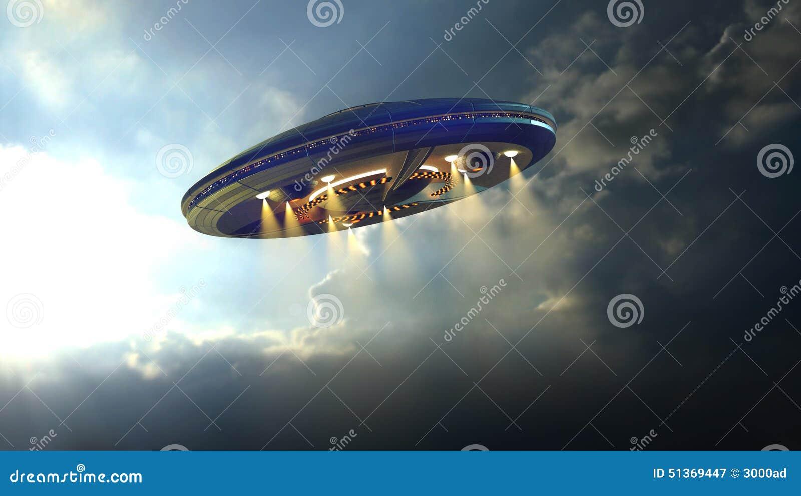 Ausländer UFO nahe Erde