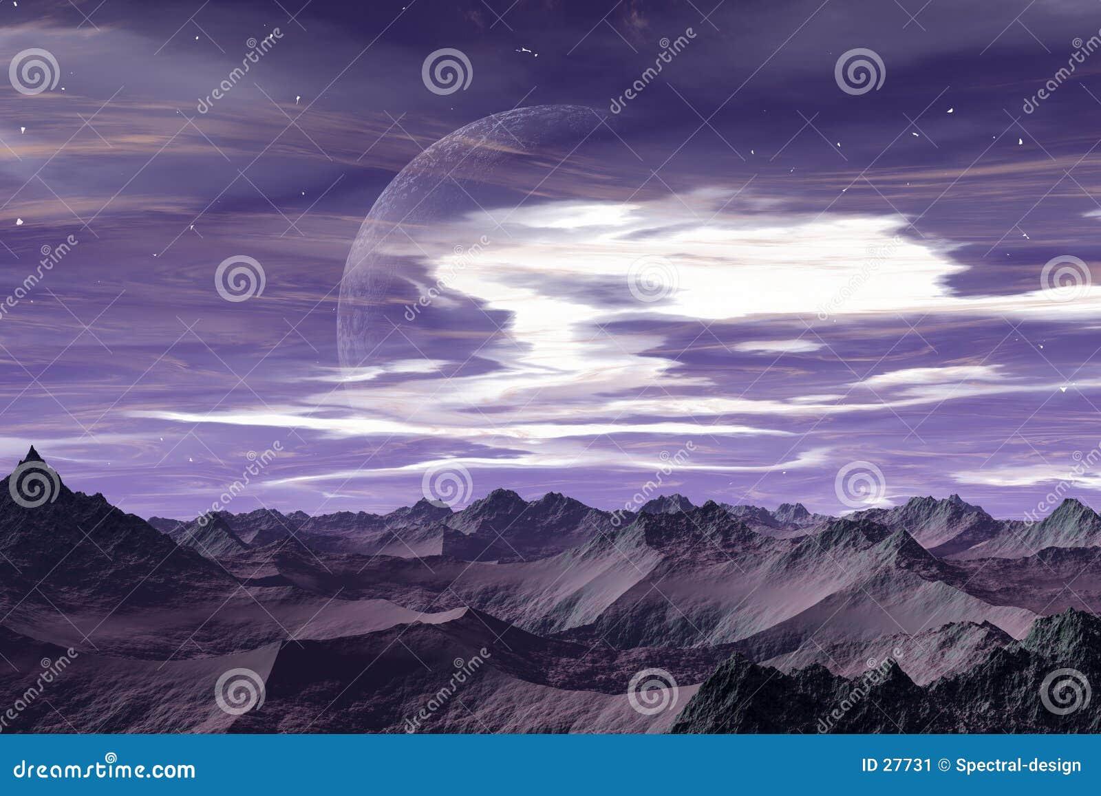 Download Ausländische Welt - Apeiros Stock Abbildung - Illustration von anblick, fiktiv: 27731