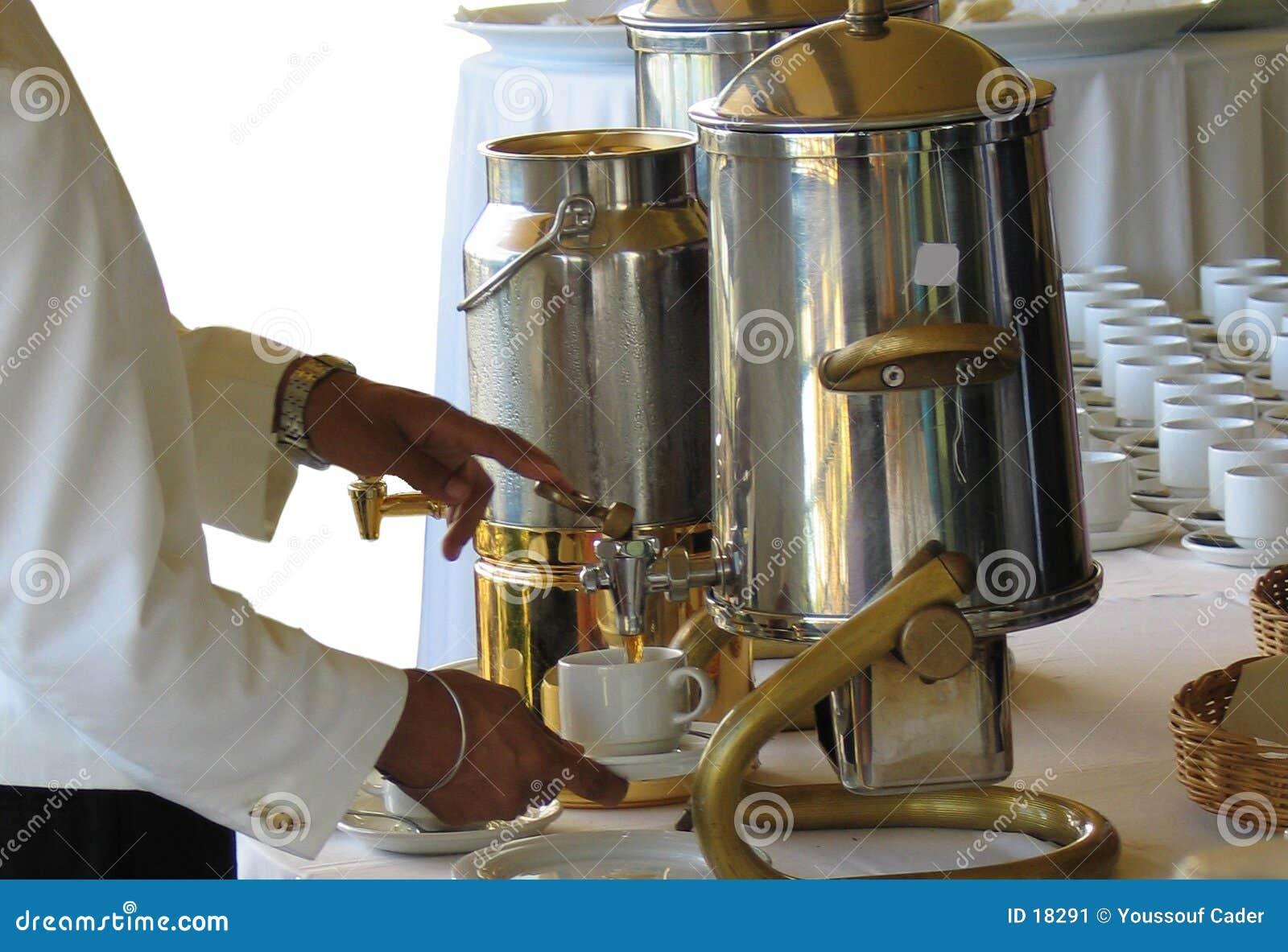Auslaufender Tee