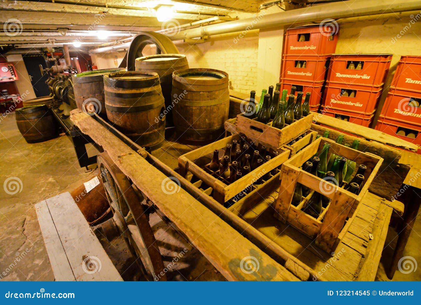 Ausrüstung für die Brauerei