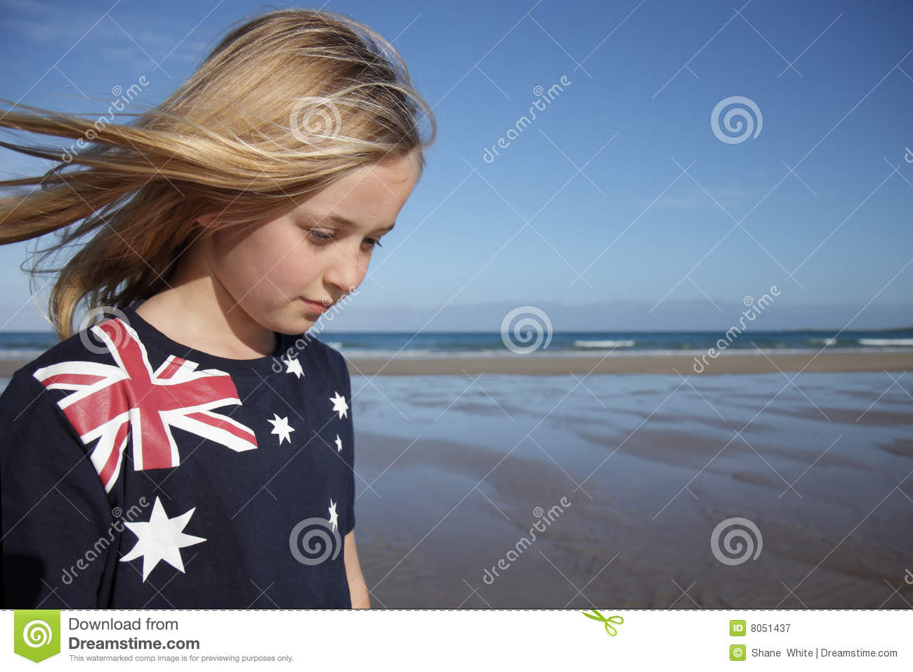 Aussie Girl Stock Image Image Of Southern, Australian - 8051437-7784
