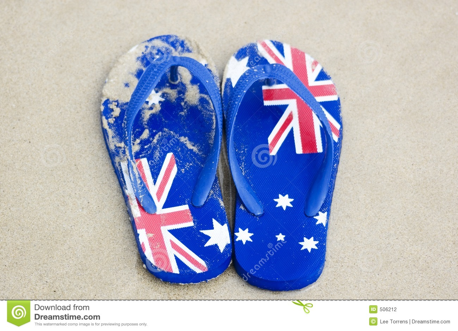 80fd993fb39 Aussie Thongs stock photo. Image of flops