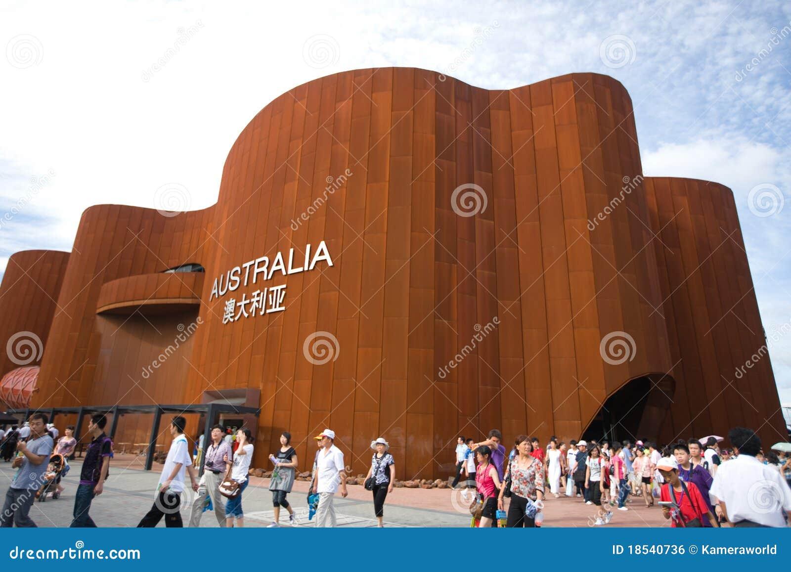 Ausstellung Shanghai 2010 - Australien-Pavillion