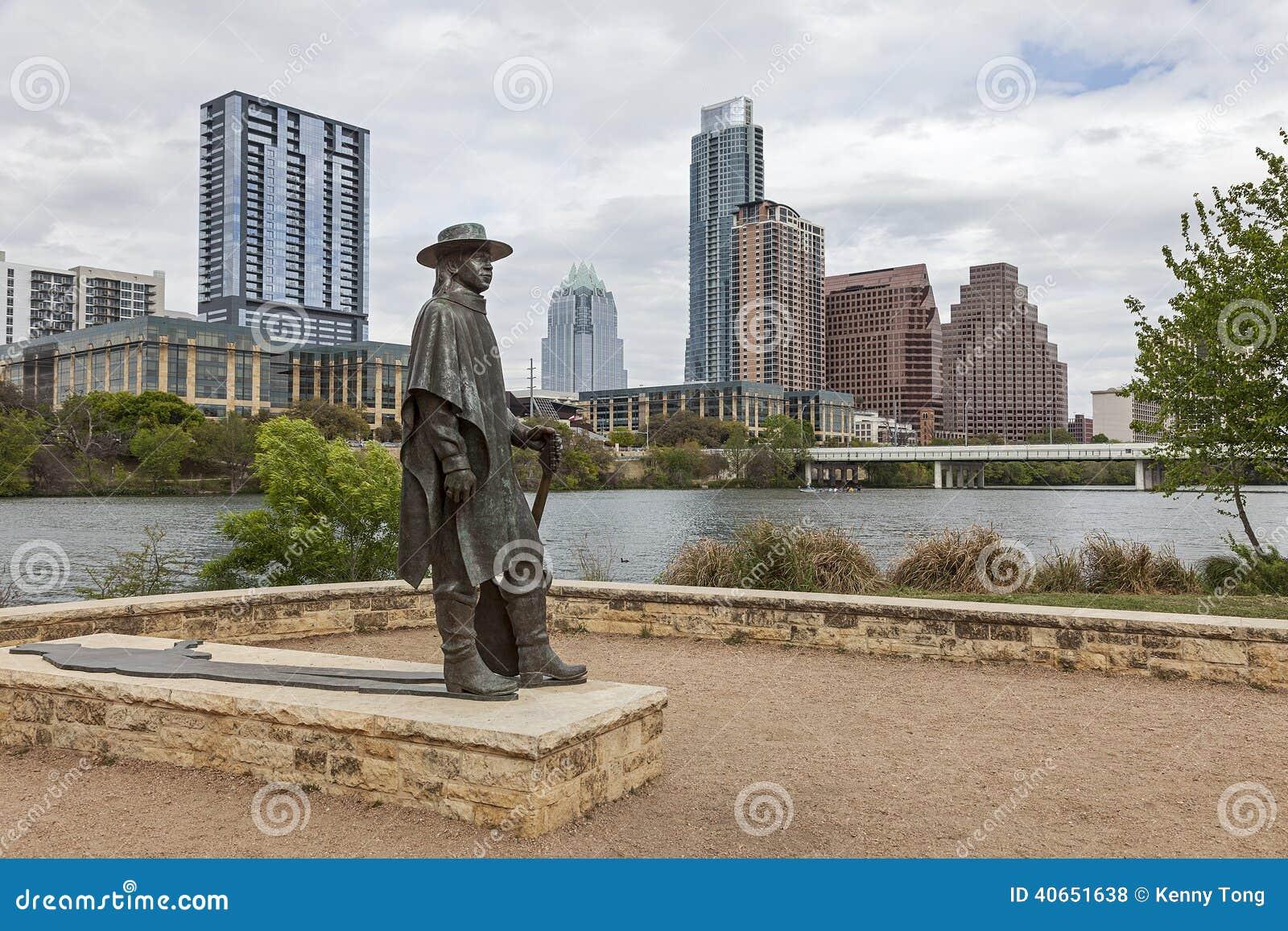Austin del centro, il Texas