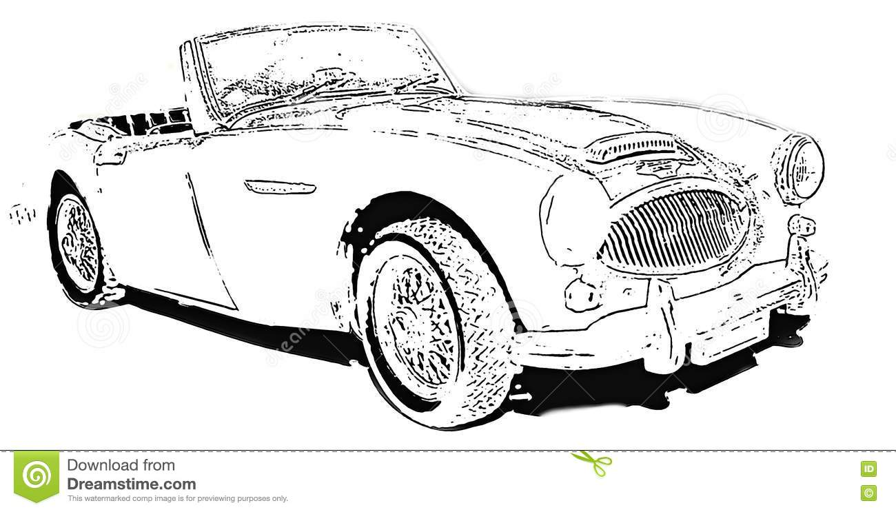 Download The Austin-Healey 3000 editorial photo. Illustration of berlin - 79637646
