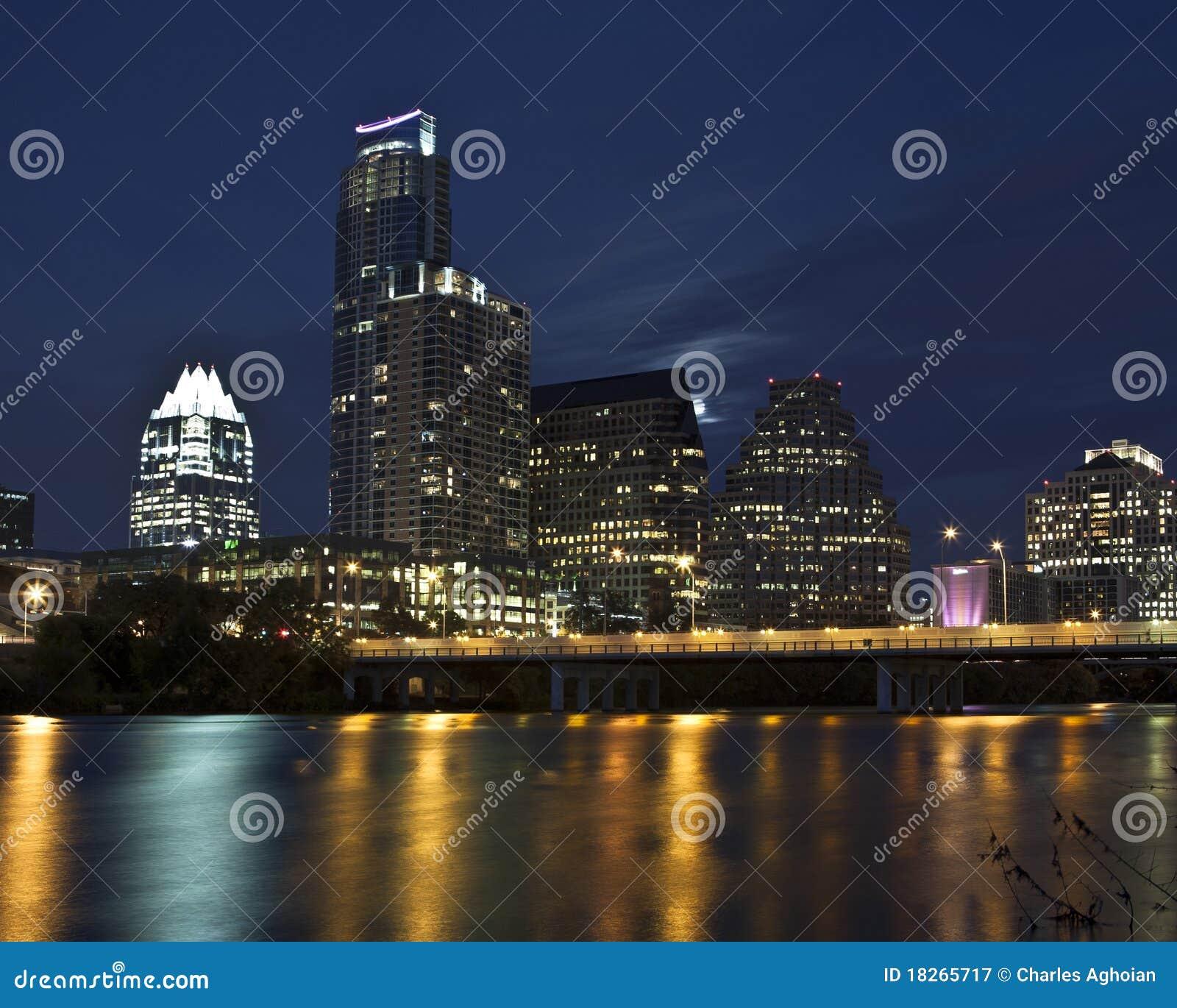 Austin linia horyzontu Texas