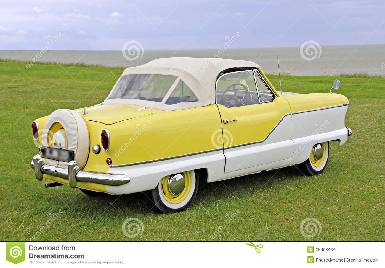 Austin Metropolitan Classic Car Stock Photo