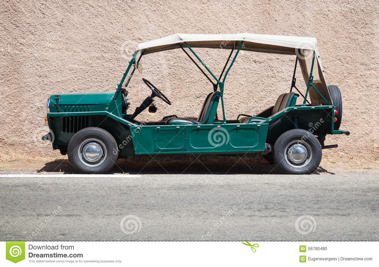 Austin Mini Moke 1967 Side View Editorial Image Image