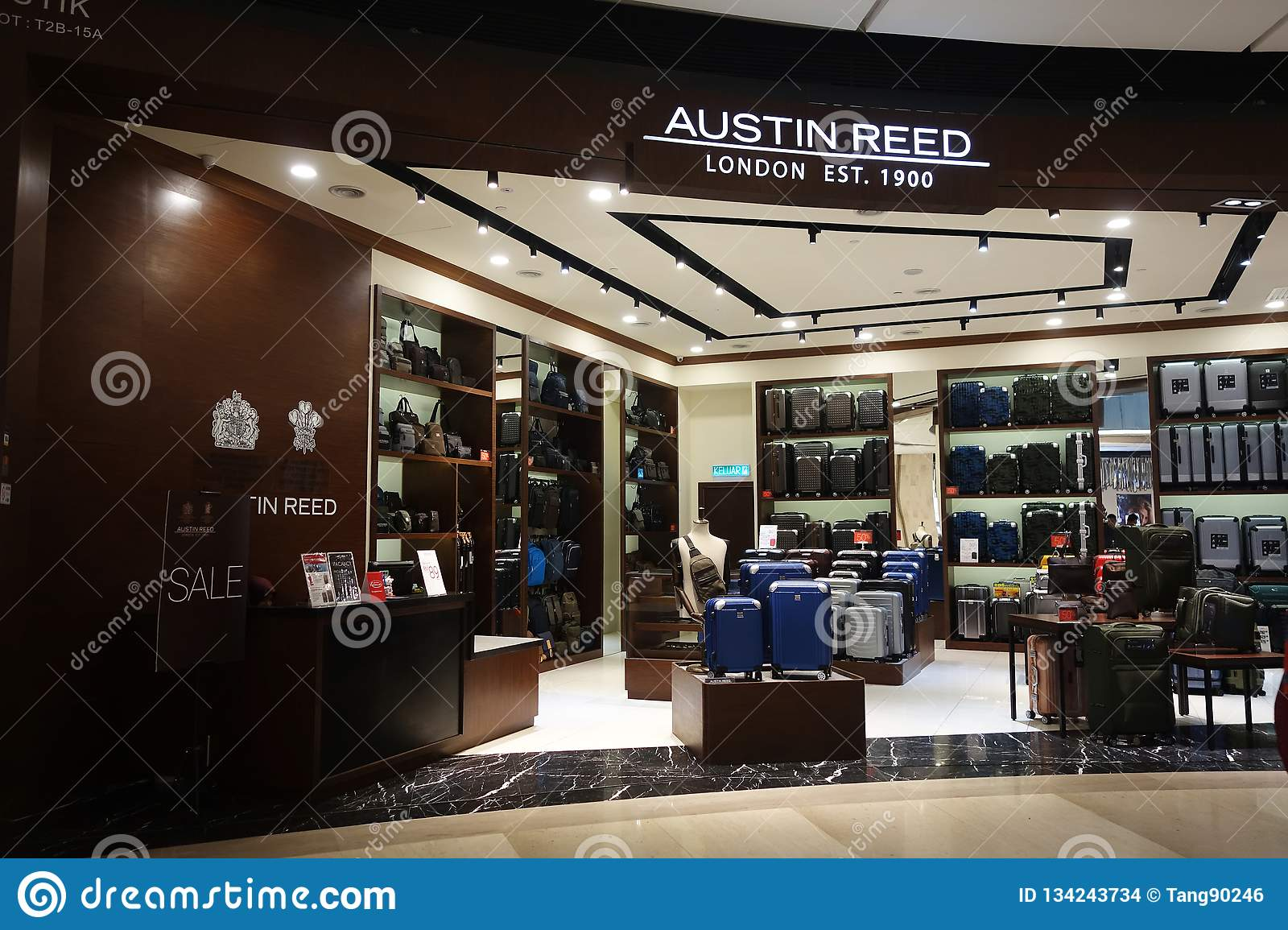 Austin Reed Boutique At Genting Highlands Malaysia Editorial Stock Image Image Of Shop City 134243734