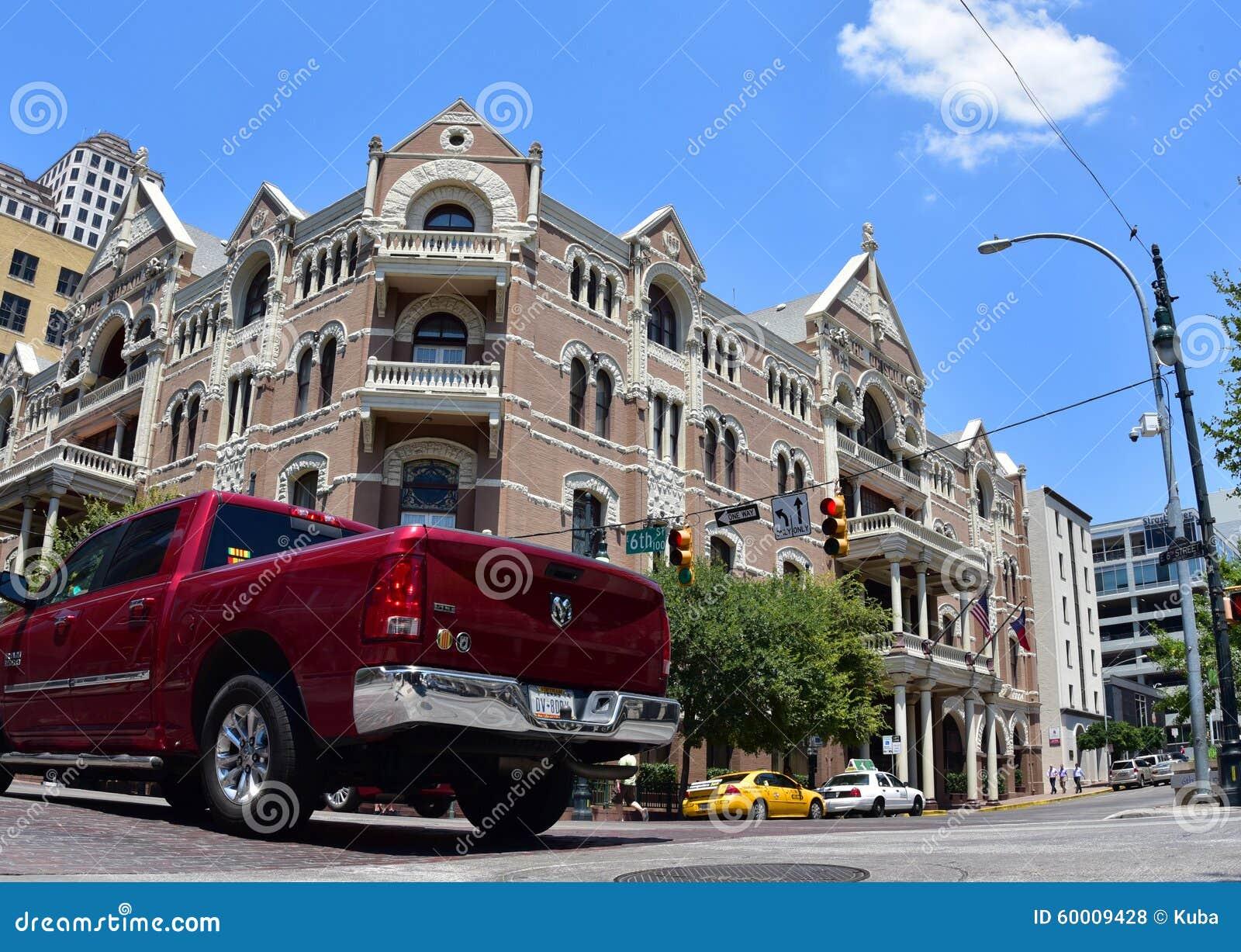 Austin texas De Verenigde Staten van Amerika Augustus 2015 Zesde straat F