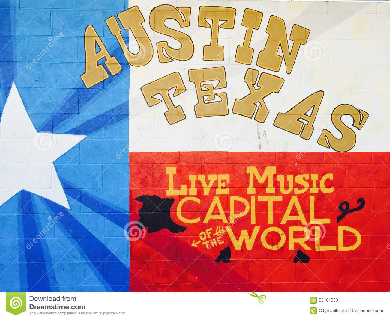 The Live Music Capital of the World - Where is Austin Texas