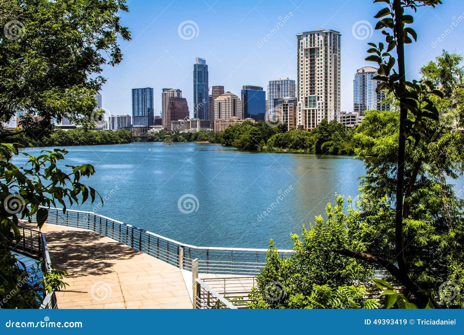 Austin Texas Trail con la vista
