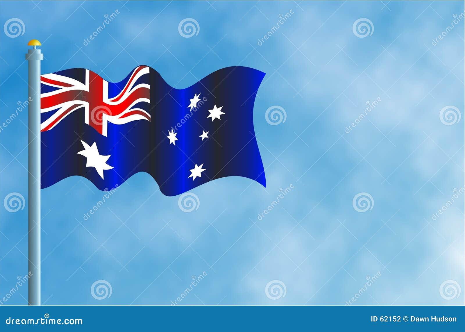 Austrailian flagga
