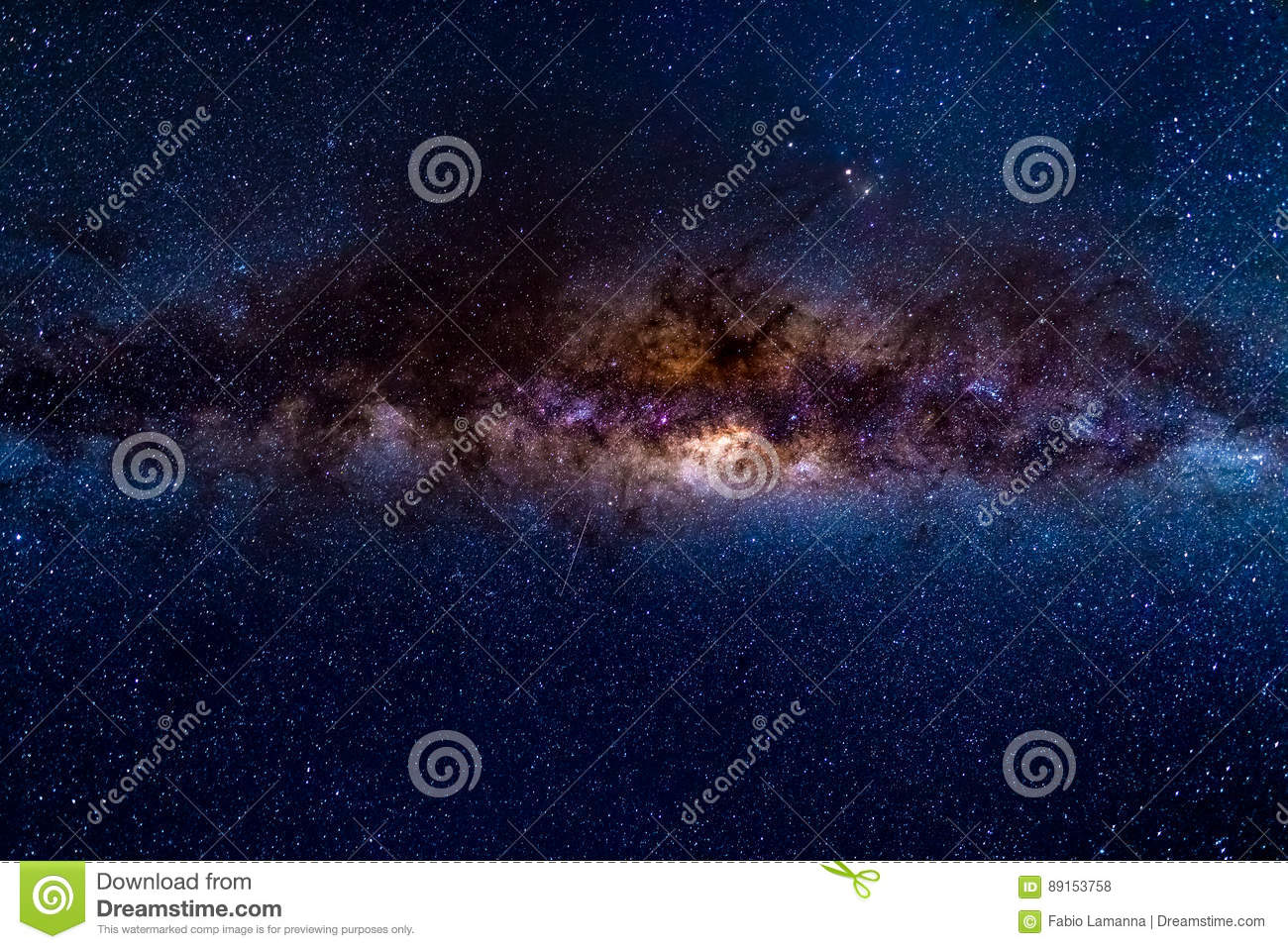 The austral Milky Way stock photo  Image of dark, africa