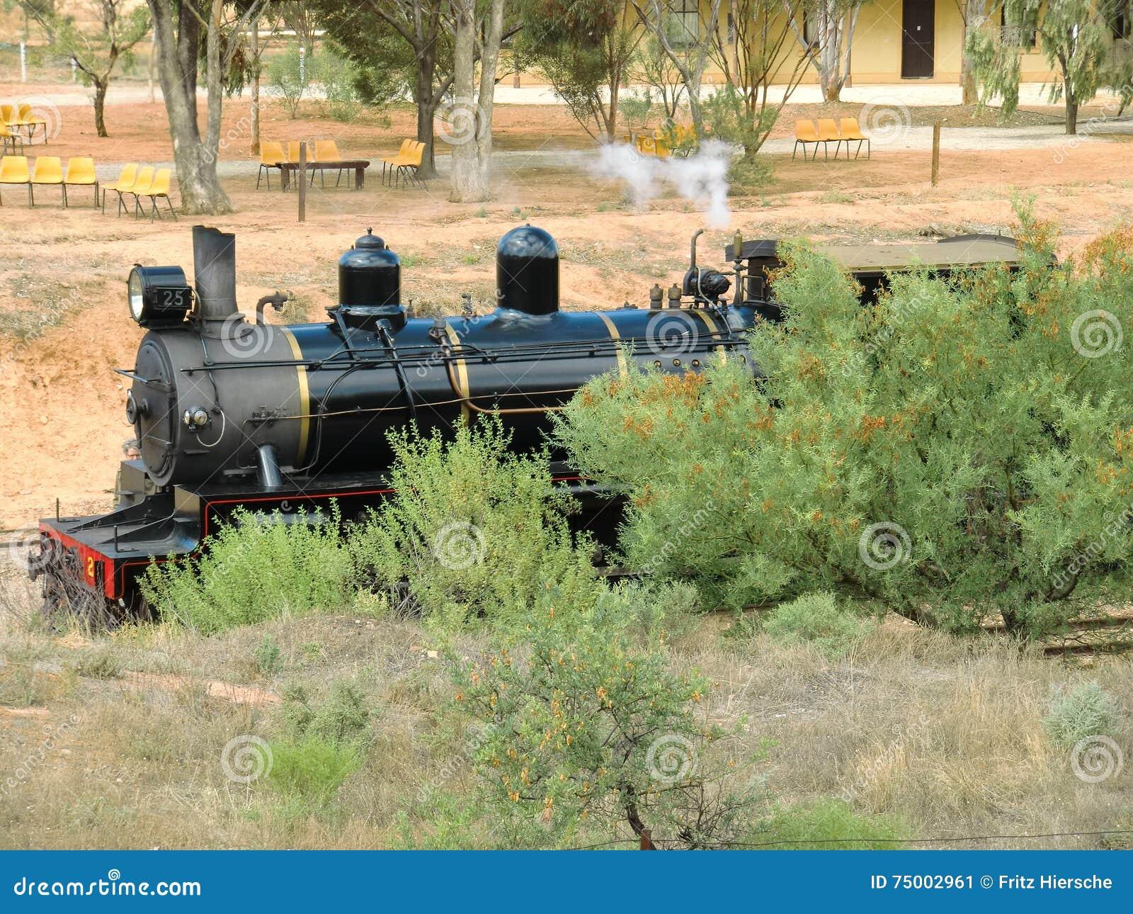 Australië, SA, Spoorweg