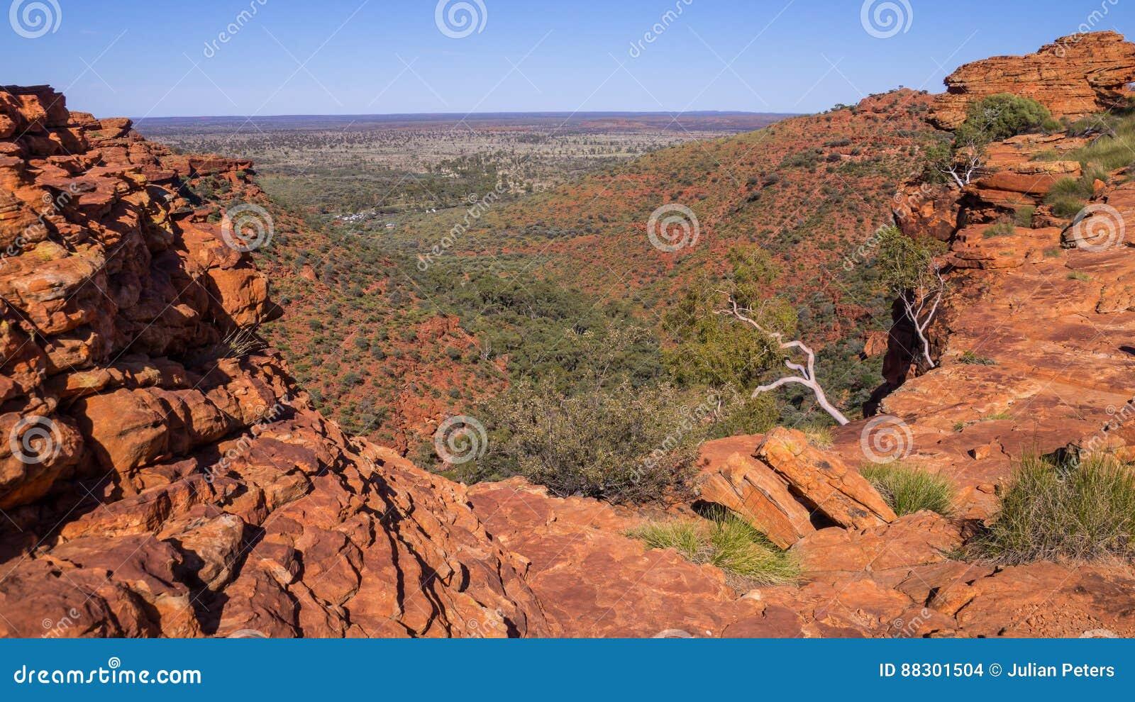 Australia canyon króla