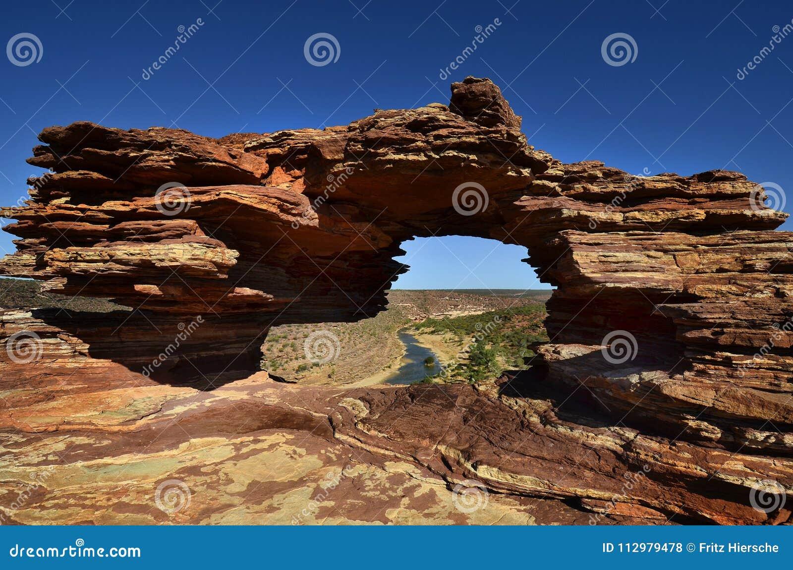 Australia, WA, Kalbarri NP, Natures window