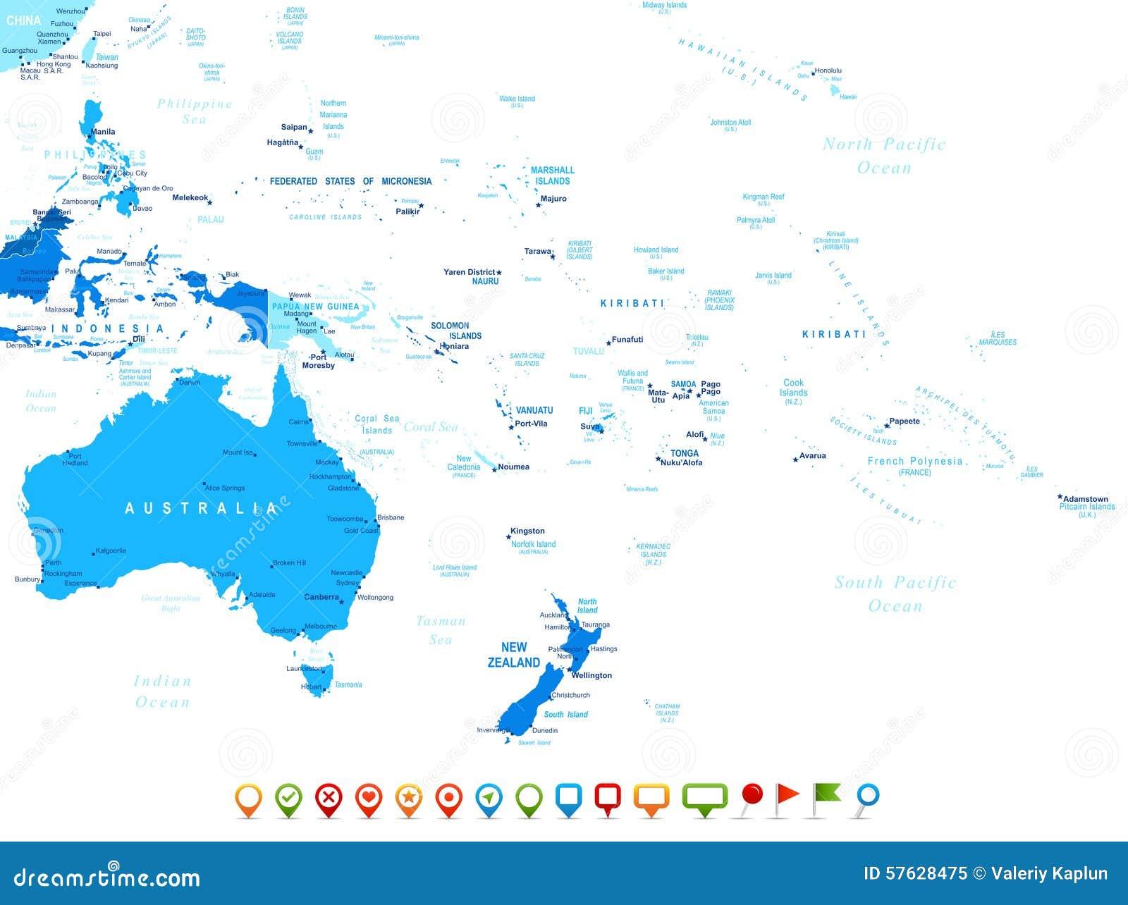 History of Oceania