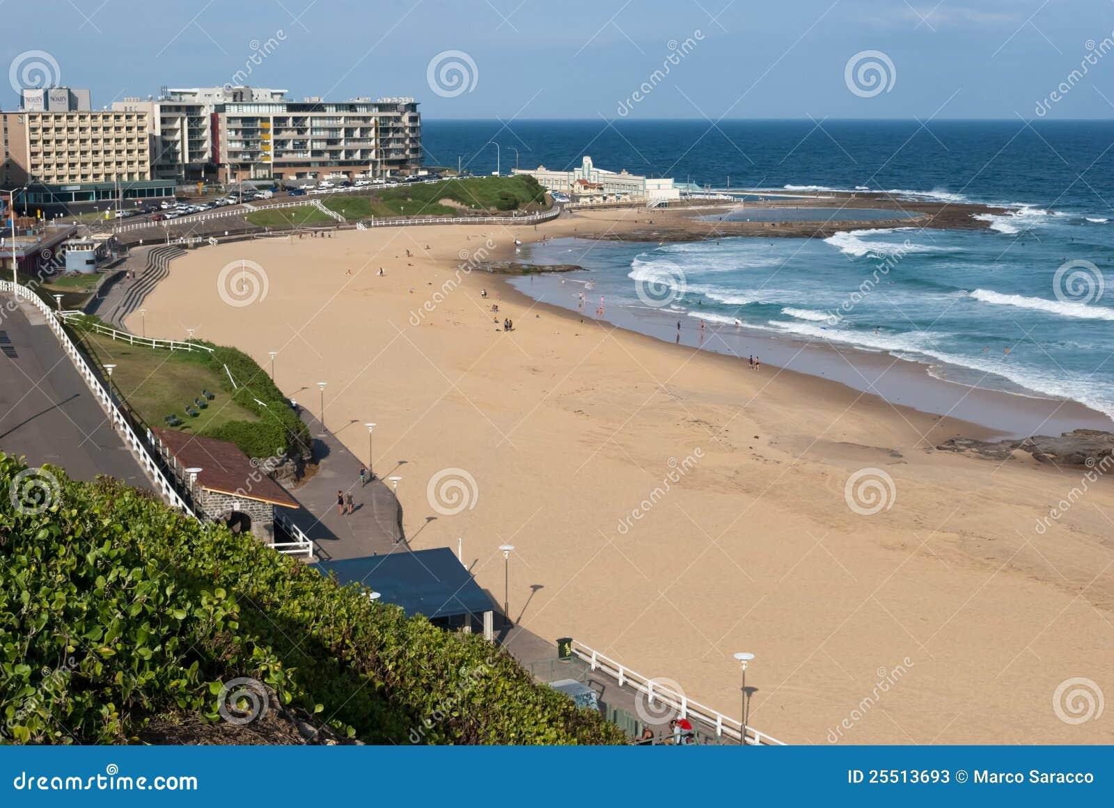 Australia plażowy Newcastle