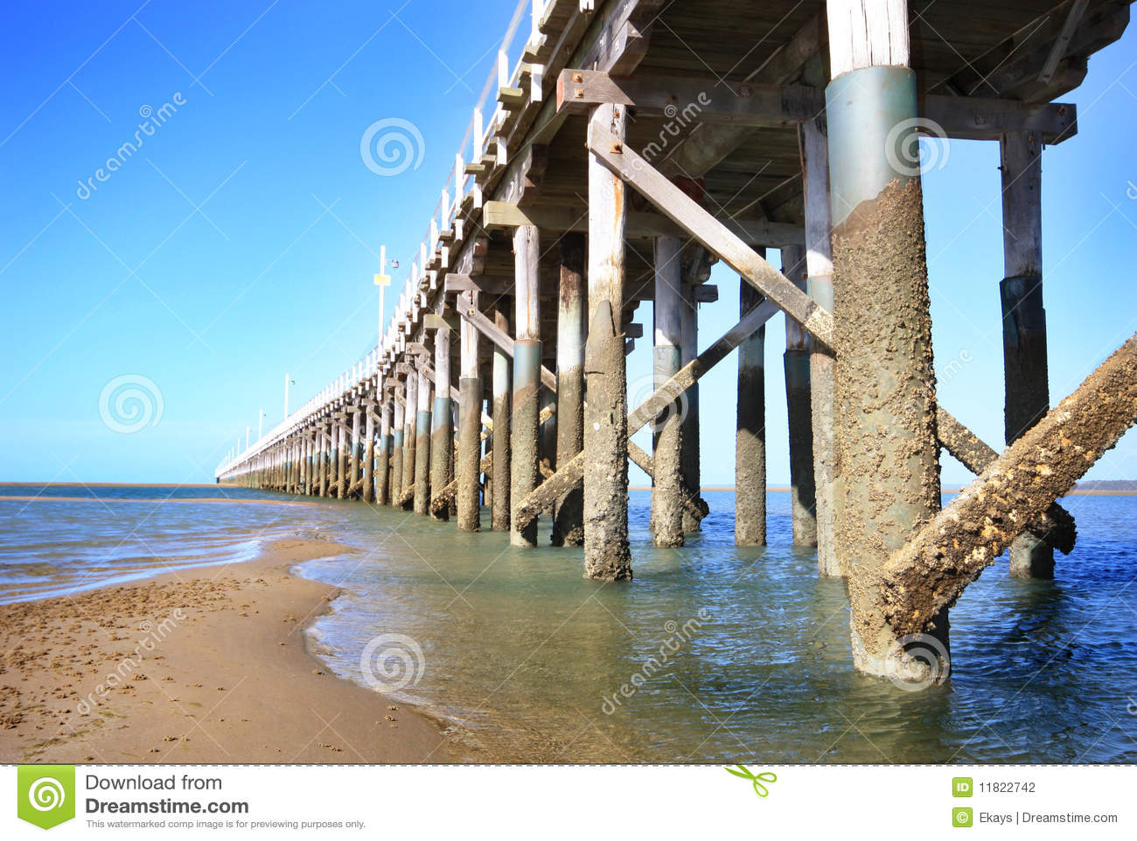 Australia podpalany hervey jetty