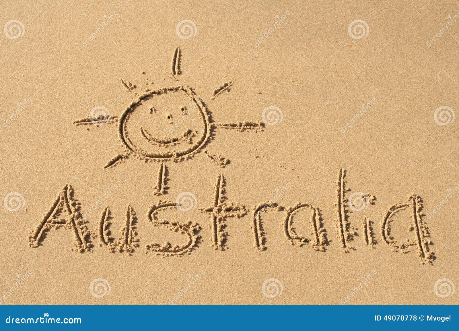 Australia in the Sand