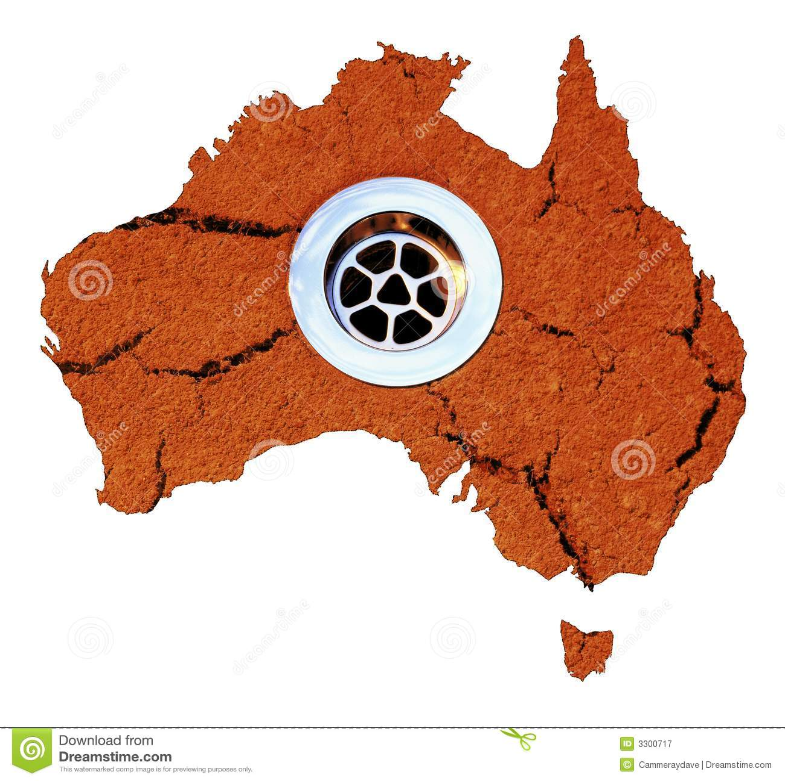 Australia spływy suszyć wody