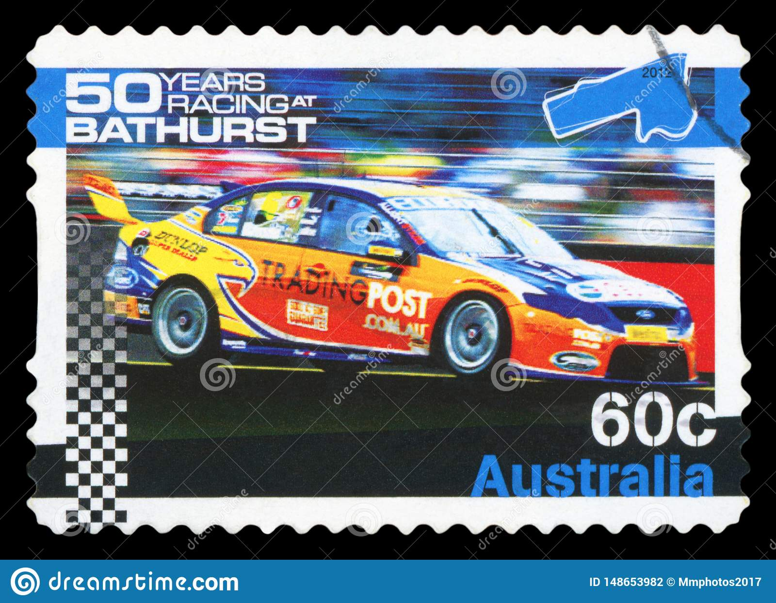 AUSTRALIA - znaczek pocztowy