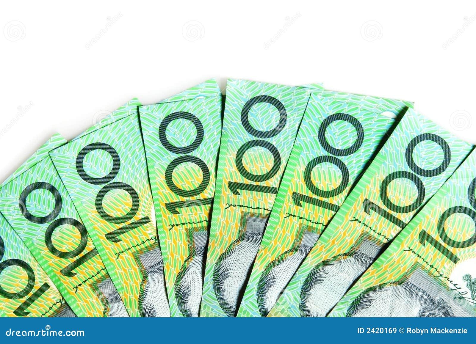 Australian $100 Bills Royalty Free Stock Images - Image ...