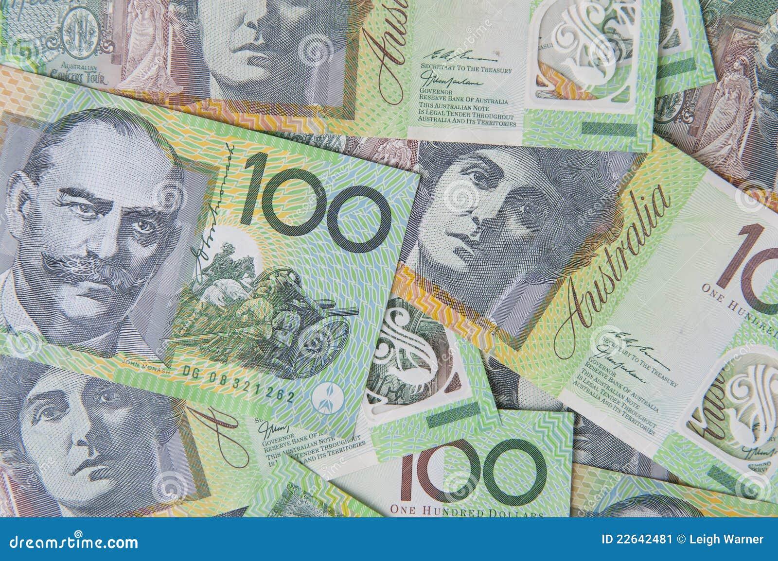 Australian $100 Notes Stock Image - Image: 22642481