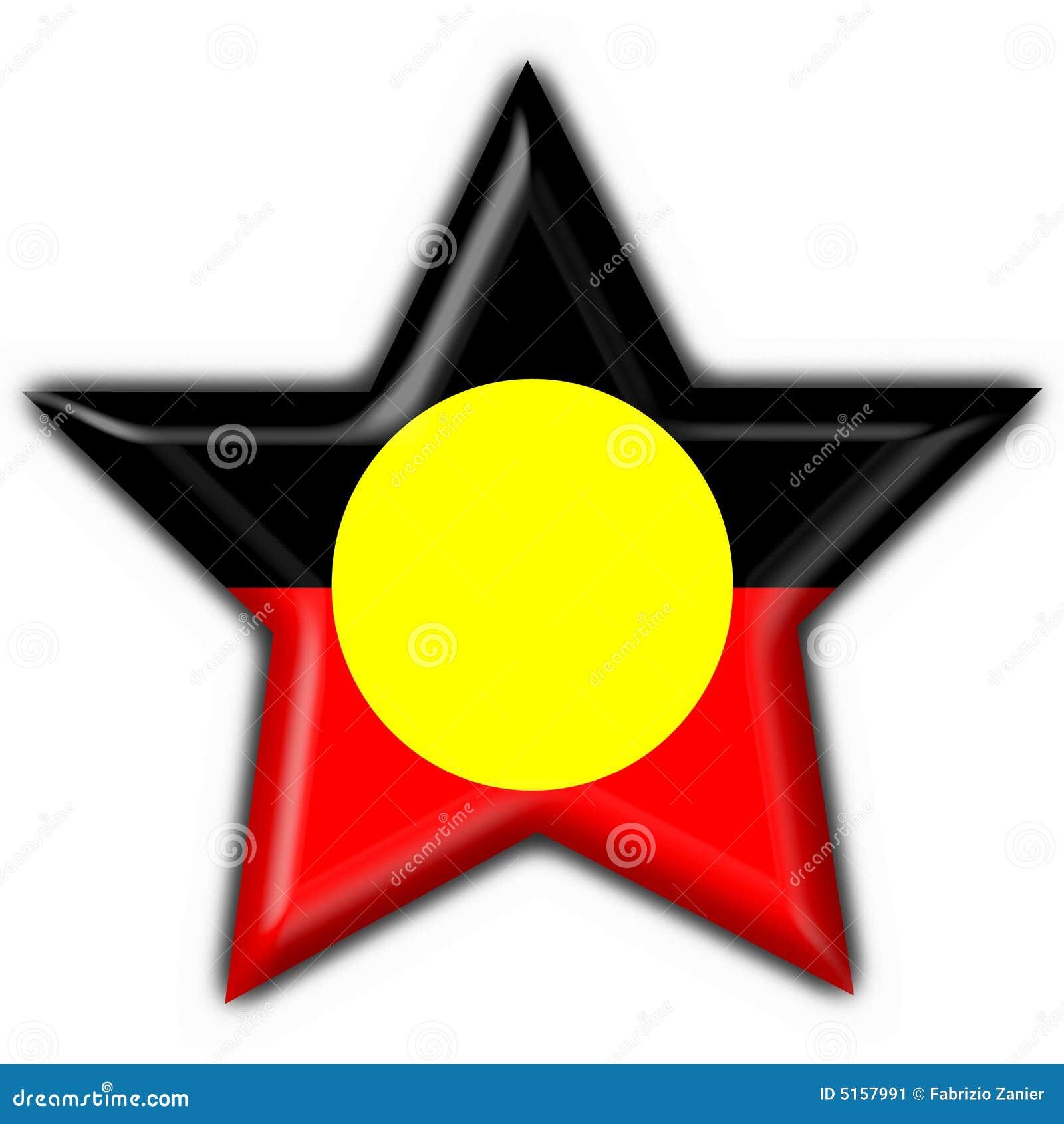 Australian aboriginal button flag star shape stock illustration australian aboriginal button flag star shape buycottarizona Gallery